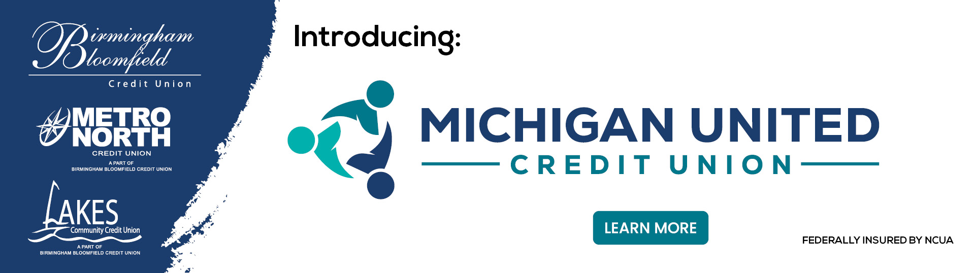 Introducing Michigan United Credit Union Home page